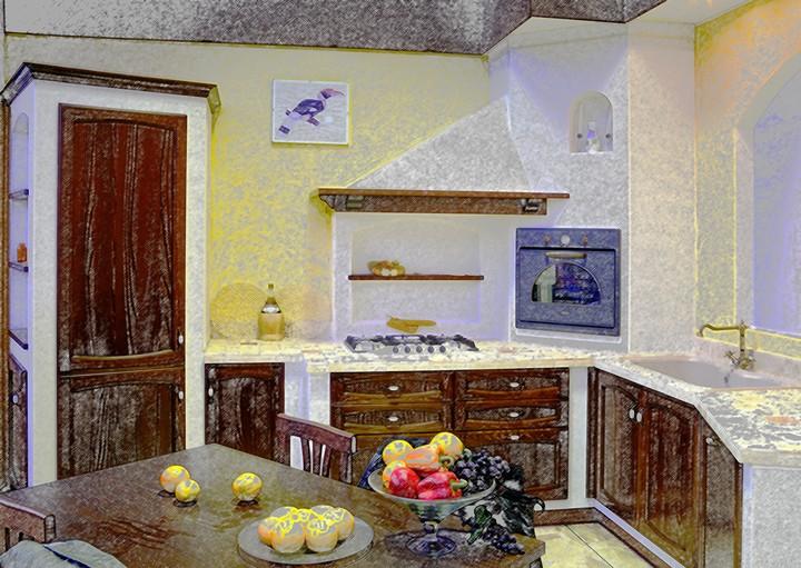 Wall System Silp Cucine Aprilia